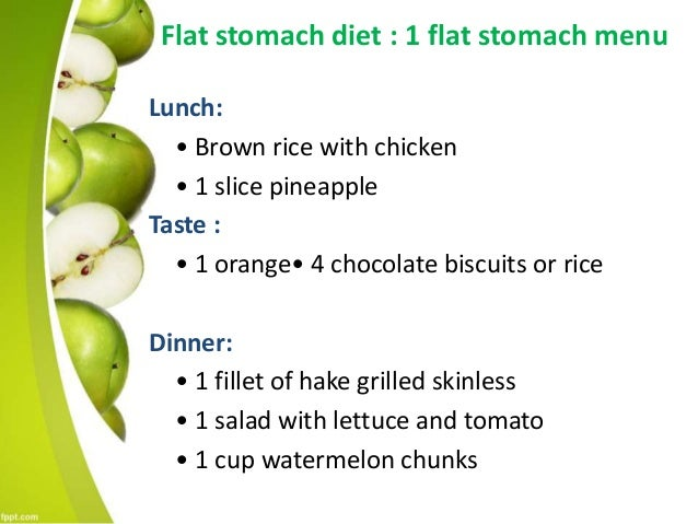 Flat Stomach Diet Get Rid Of Stomach Bloating Quickly