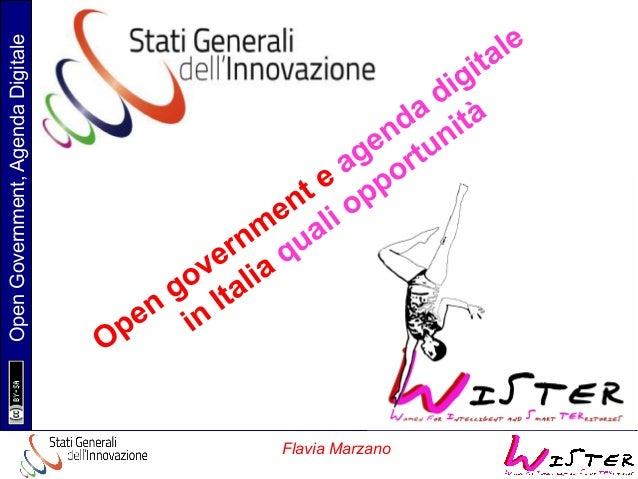 Presentazione Wister e SGI, Flavia Marzano