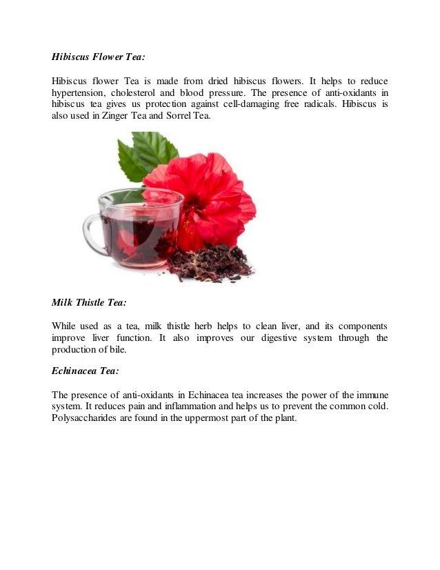 Hibiscus Tea Cuts Blood Pressure