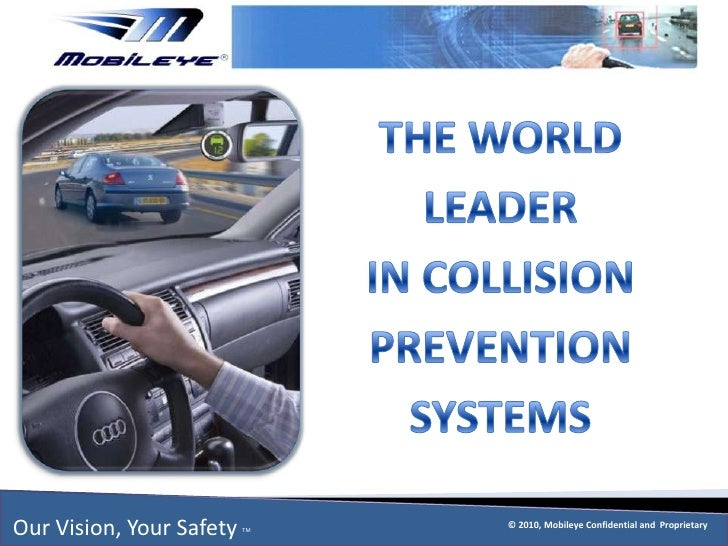 THE WORLD LEADERIN COLLISION PREVENTION SYSTEMS<br />