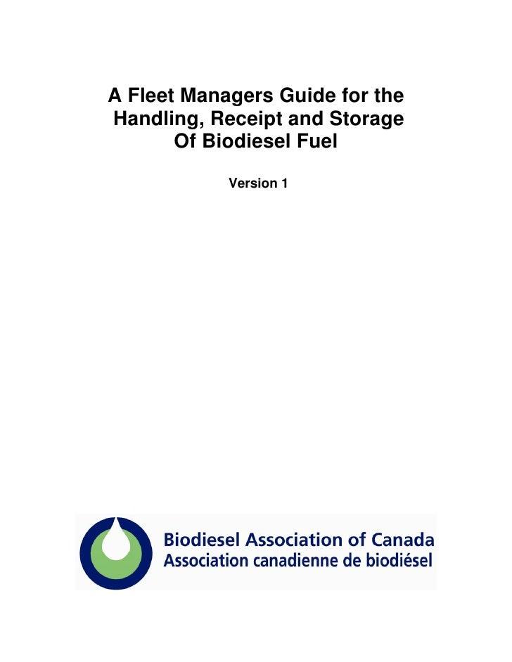 Fleet manager biodiesel_guide