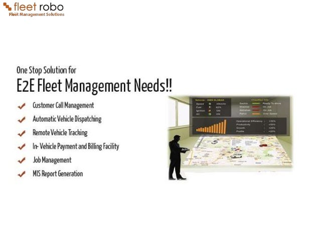 Fleet Robo Fleet Management Solutions With Gps Vehicle