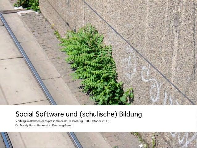 "h""p://www.flickr.com/photos/scarygami/5748843000/sizes/z/in/photostream/Dr. Mandy Rohs, Universität Duisburg-EssenSocial So..."