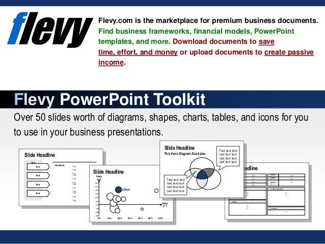 PowerPoint Business Diagrams Toolkit