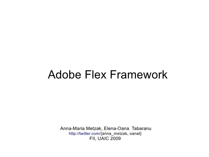 Adobe Flex Framework