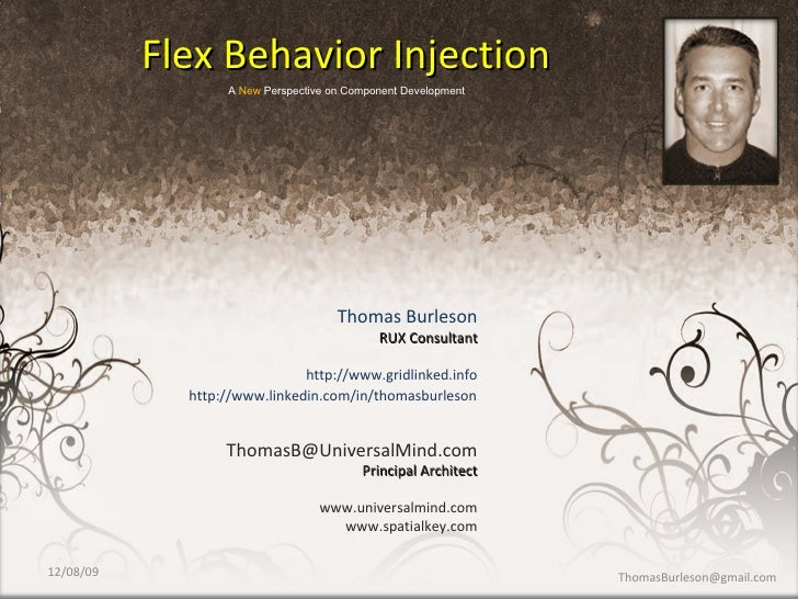 Thomas Burleson RUX Consultant http://www.gridlinked.info [email_address] Principal Architect www.universalmind.com www.sp...