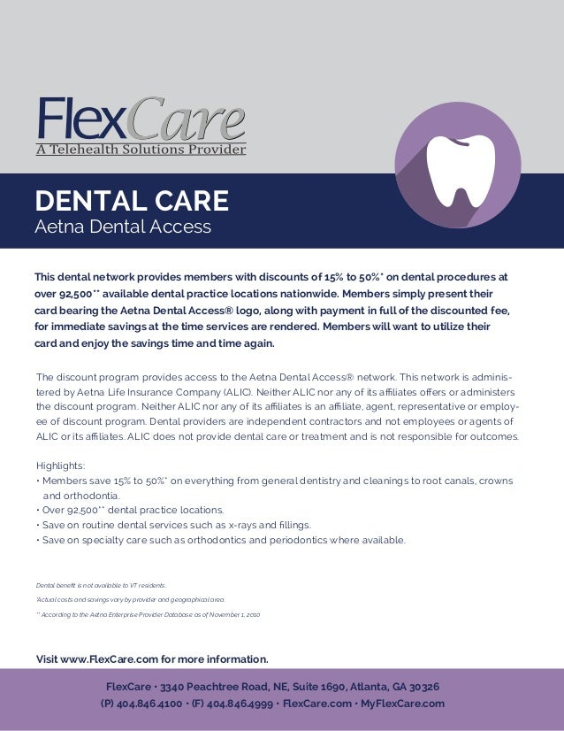 Aetna dental coupon