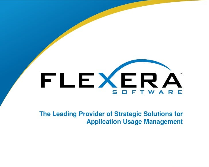 Flexera Software About Us