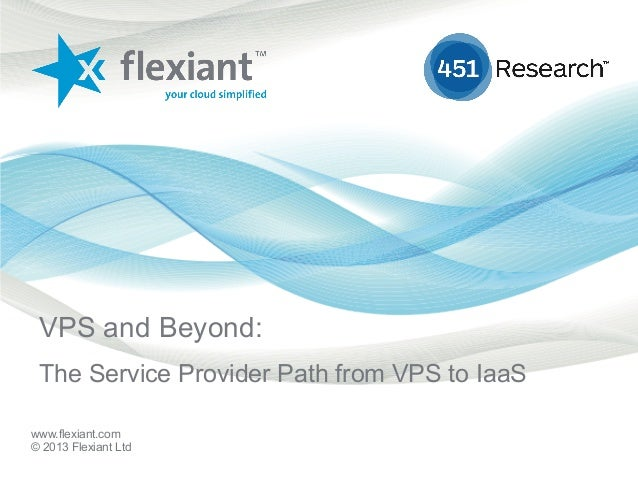 www.flexiant.com© 2013 Flexiant LtdVPS and Beyond:The Service Provider Path from VPS to IaaS