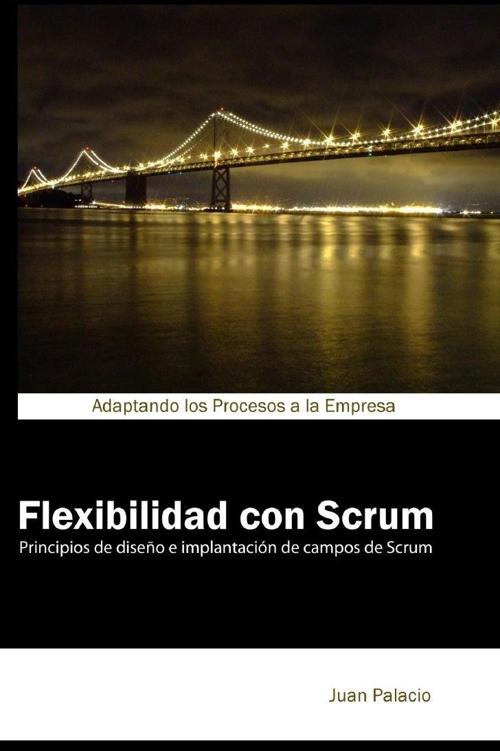 Flexibilidad con ScrumPrincipios de diseño e implantación de campos de ScrumApuntes, conceptos y principios para diseñar, ...