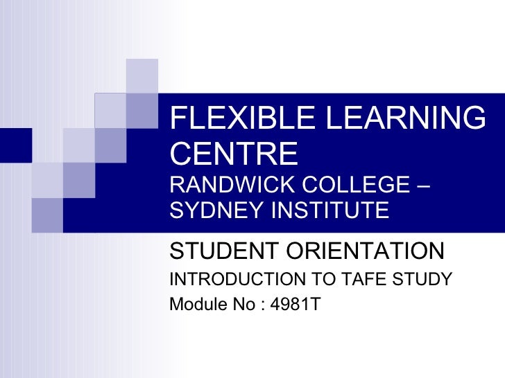 Flexible Learning Centre