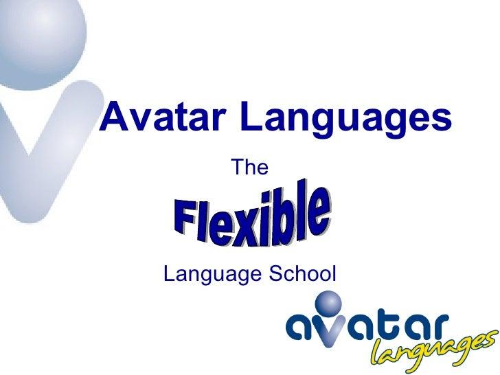 Avatar Languages - The Flexible Language School