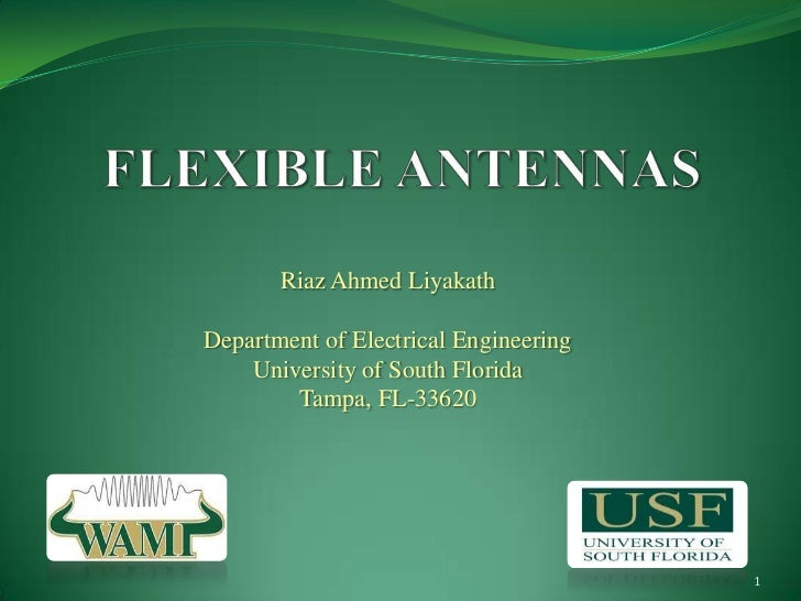 Riaz Ahmed LiyakathDepartment of Electrical Engineering    University of South Florida        Tampa, FL-33620             ...