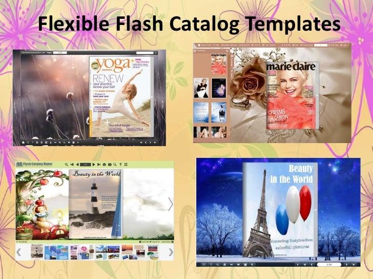 Flexible Flash Catalog Templates