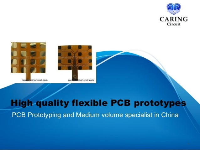 High quality flexible PCB prototypes PCB Prototyping and Medium volume specialist in China  1