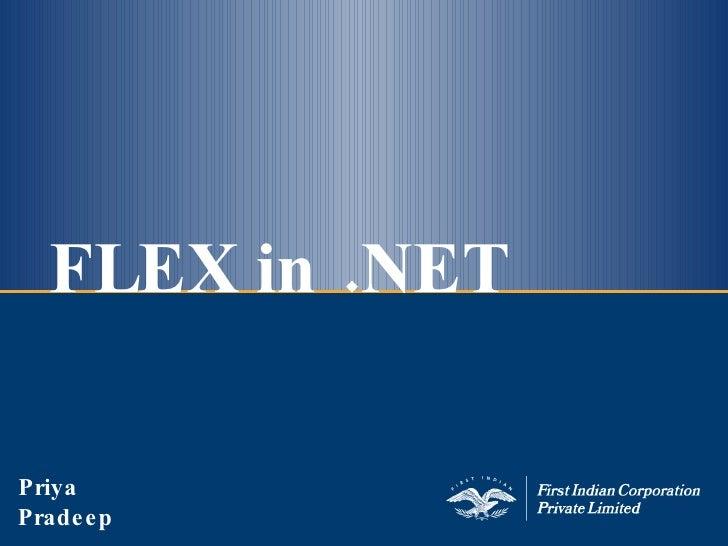 Flex In Dot Net