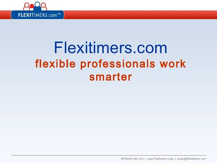 Flexitimers Elevator Presentation Nov08