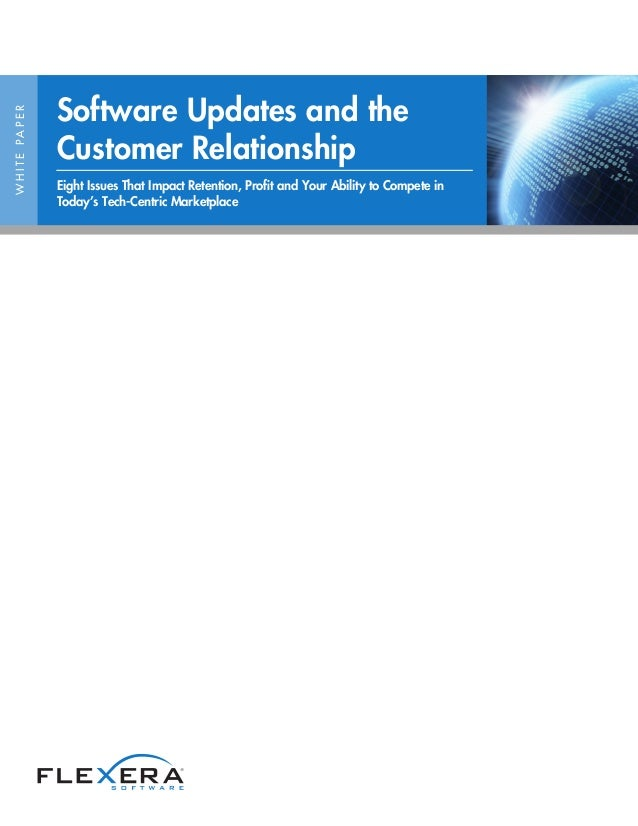 Software Updates and the Customer Relationship