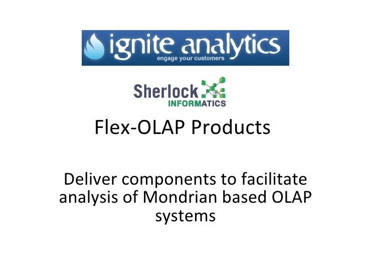 Flex Olap Components