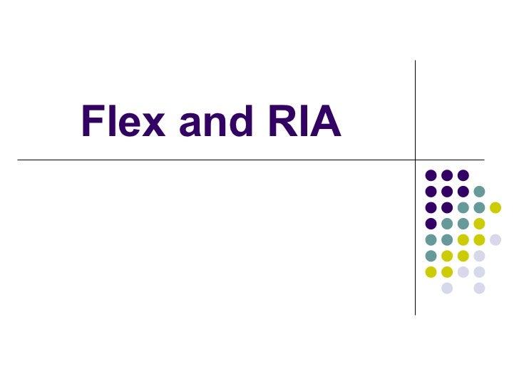 Flex RIA