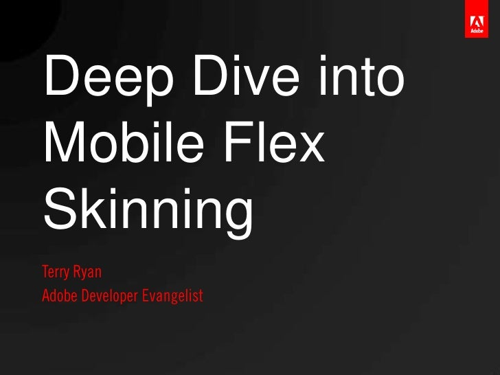 Flex Mobile Skinning Workshop