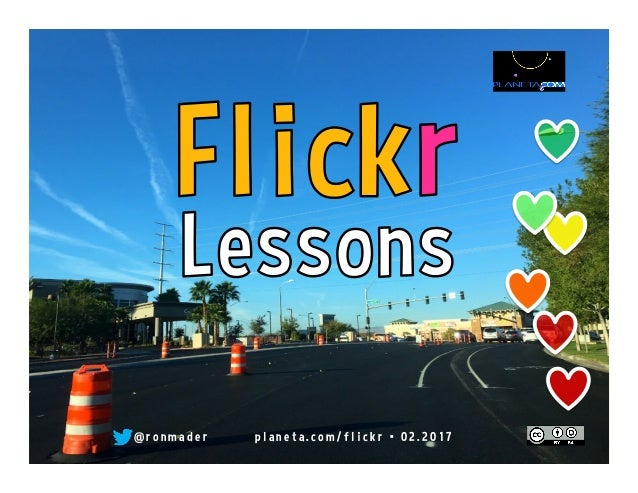 Flickr Lessons