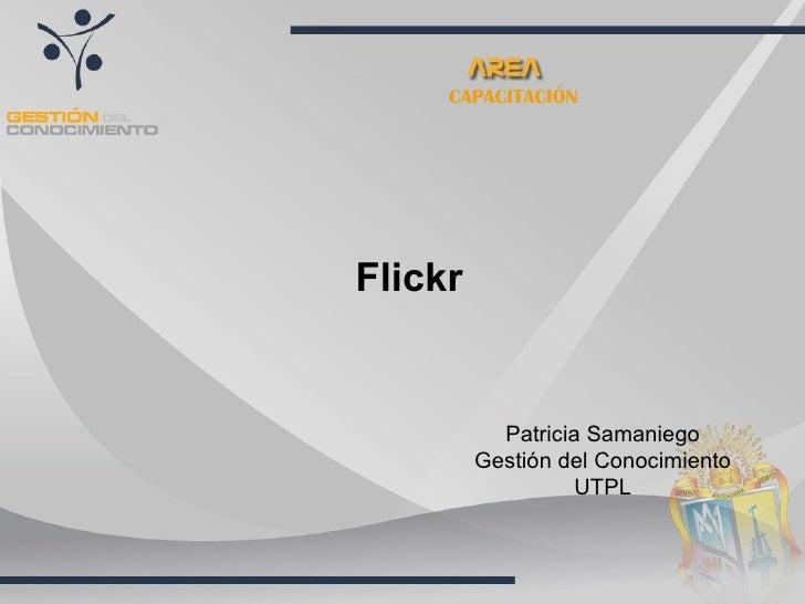 Flickr Patricia Samaniego Gestión del Conocimiento UTPL CAPACITACIÓN