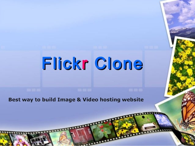 Flickr Clone By NCrypted websites