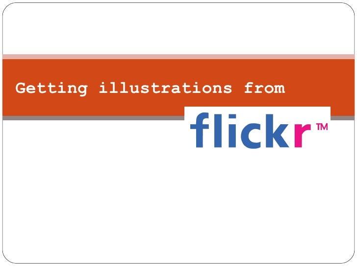 Flickr Illustrations