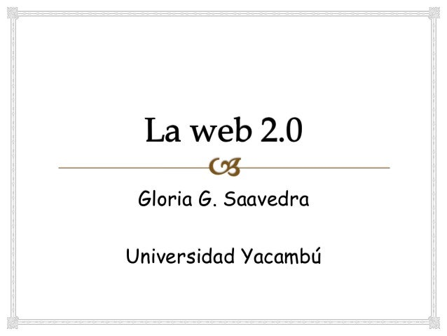 Gloria G. SaavedraUniversidad Yacambú