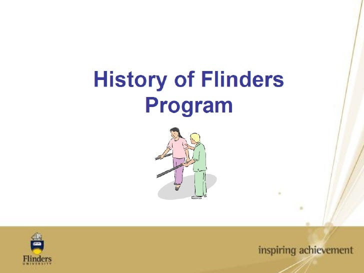 HIstory of the Flinders Model