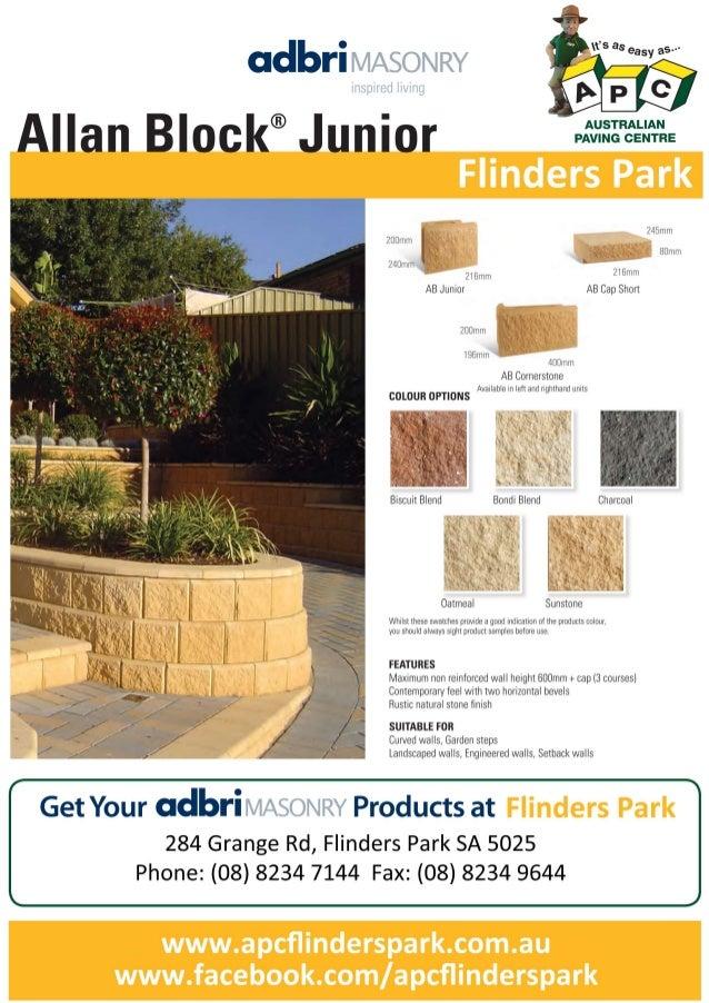 Flinders park apc_allanblock_junior
