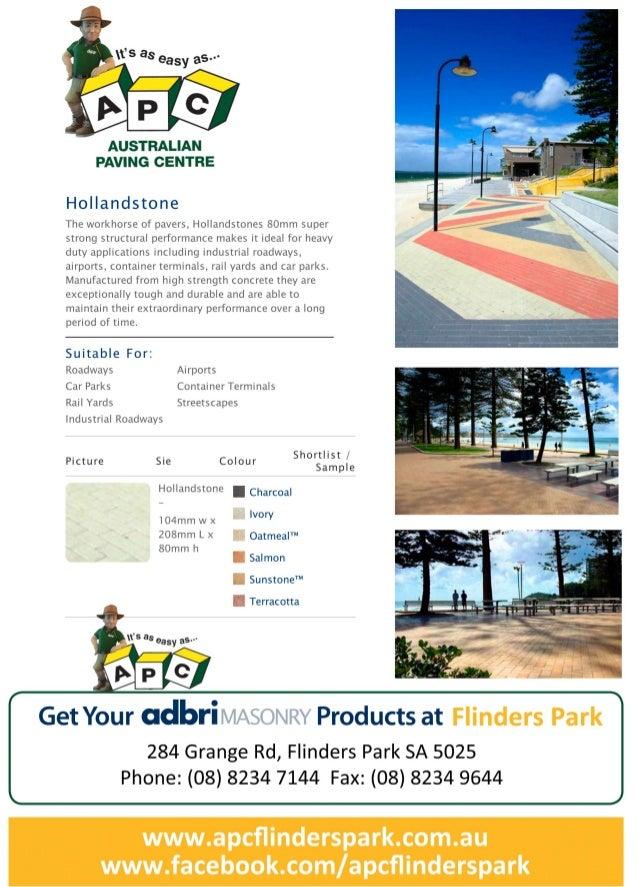 Flinders park apc_hollandstone