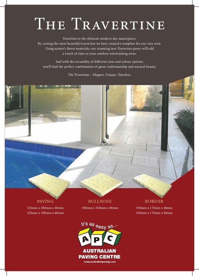 Flinders park apc_travertine brochure