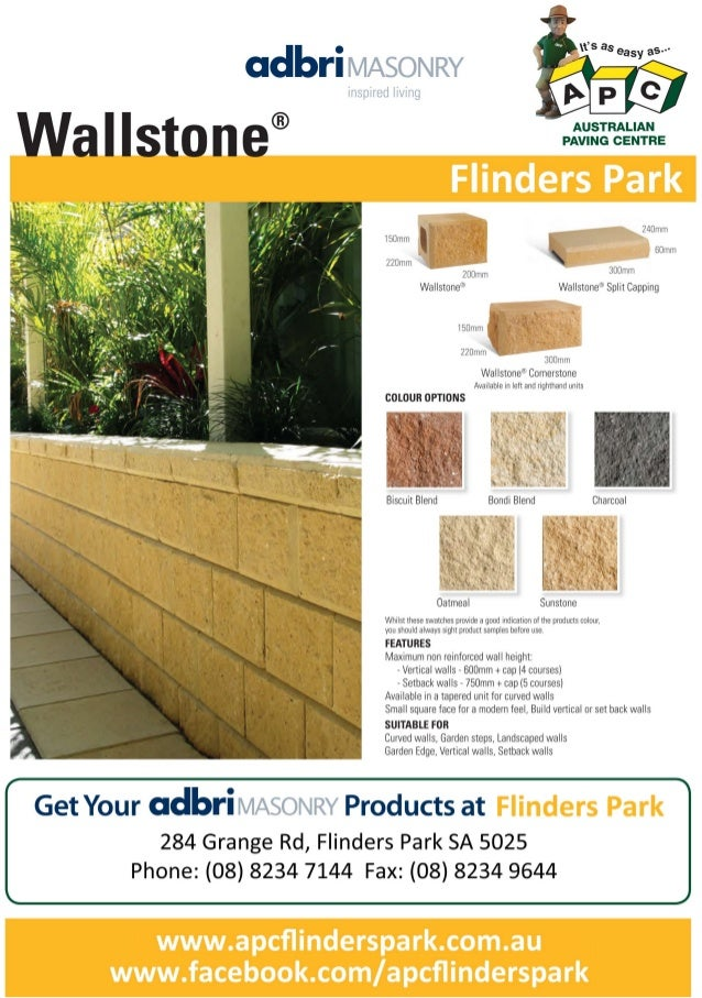 Flinders park apc_wallstone
