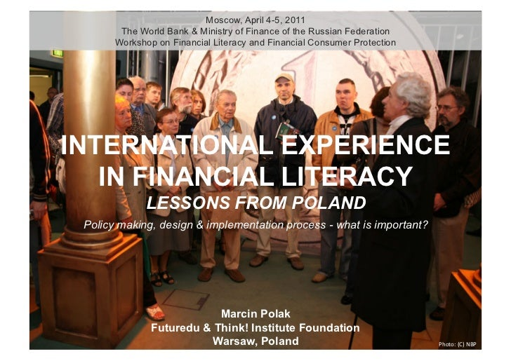 International Experience in Financial Literacy: Lessons from Poland