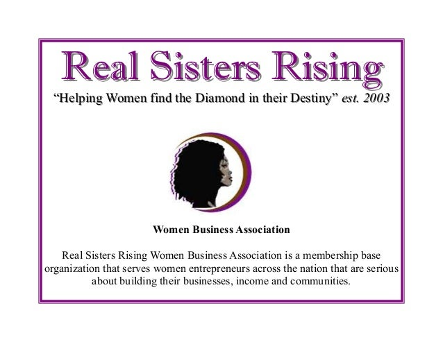 """Real Sisters RisingReal Sisters Rising""""Helping Women find the Diamond in their Destiny""""""""Helping Women find the Diamond in ..."""