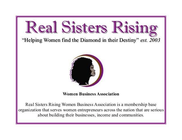 Real Sisters Rising Presentation