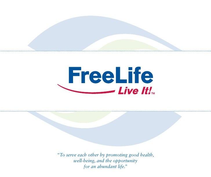Freelife Flip Book