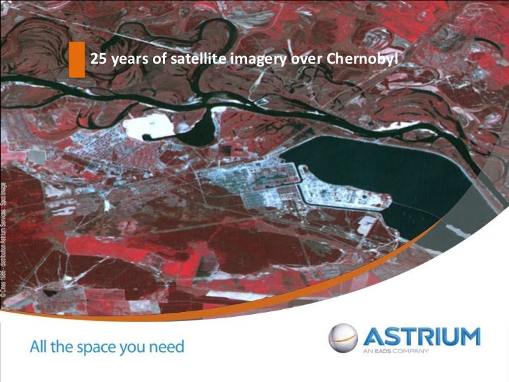 25 years of satellite imagery over Chernobyl<br />