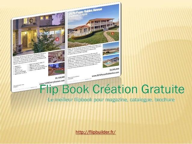 Flip book création gratuite le meilleur flipbook pour magazine, catalogue, brochure