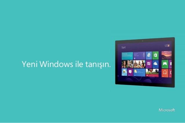 Ev Kullanıcıları İçin Windows 8 Kullanım Kılavuzu