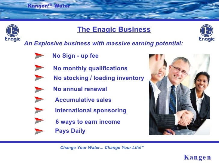 Enagic Business Plan The Enagic Business Kangen