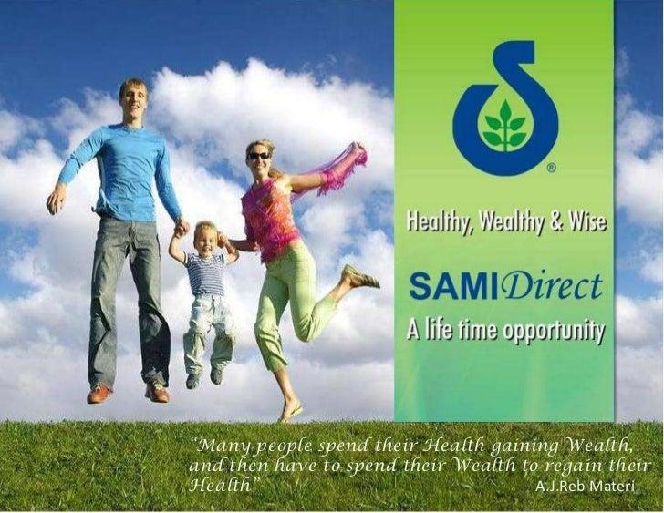 Sami Opportunity Presentation