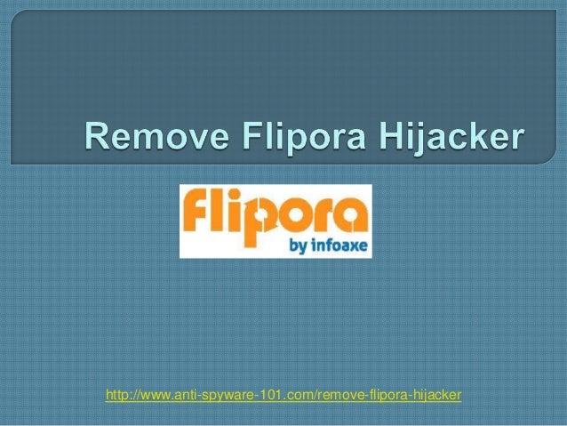 Remove Flipora Hijacker