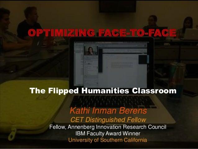 Flipping the Humanities Seminar
