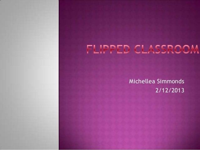 Michellea Simmonds         2/12/2013