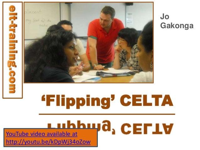 Flipping CELTA