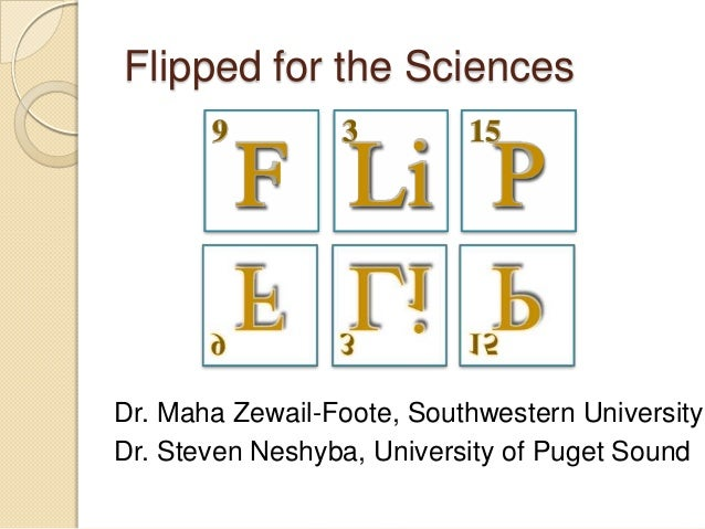 NITLE Shared Academics: Flipped for the Sciences