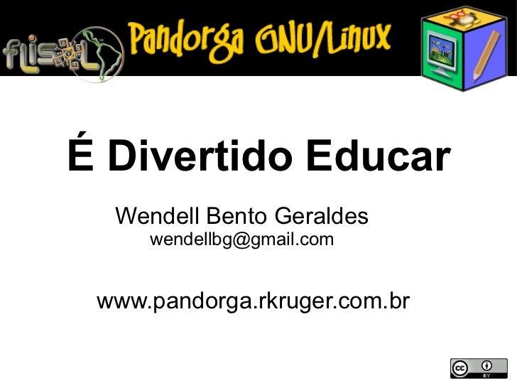 Palestra sobre o Pandorga no FLISOL 2010